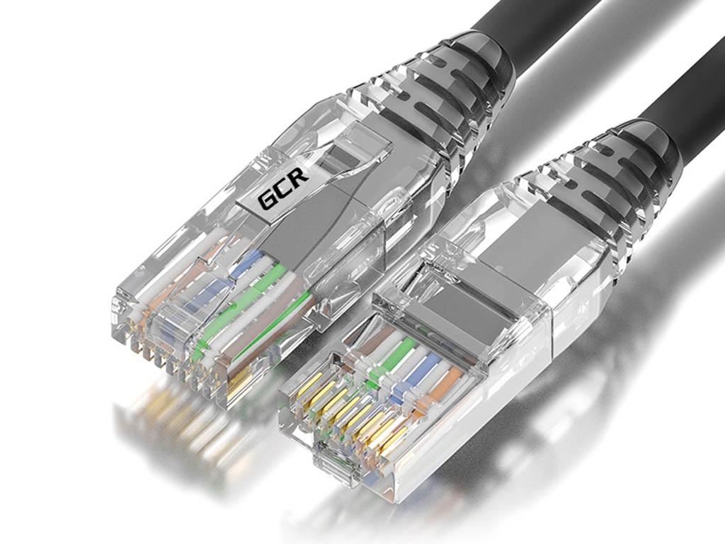 Сетевой кабель GCR UTP cat.5e RJ45 T568B 5.0m GCR-52682