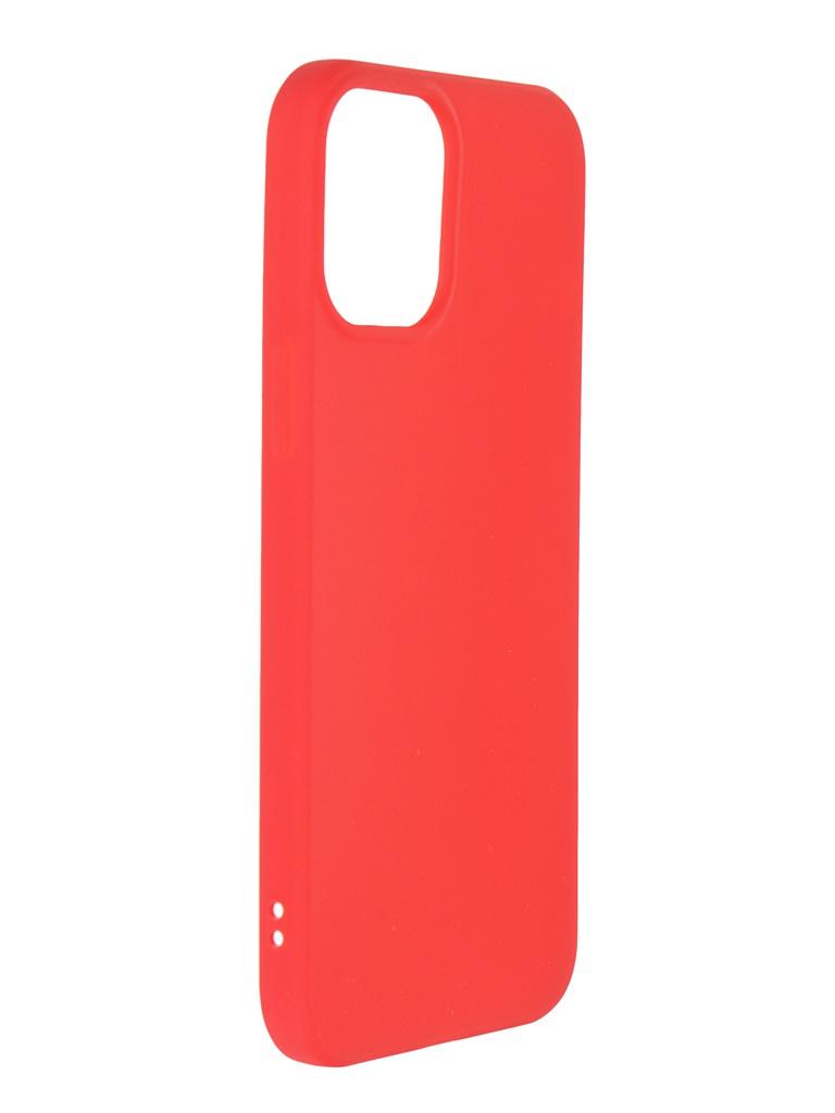 Чехол Neypo для APPLE iPhone 12 Pro Max (2020) Soft Matte Silicone Red NST20826 недорого