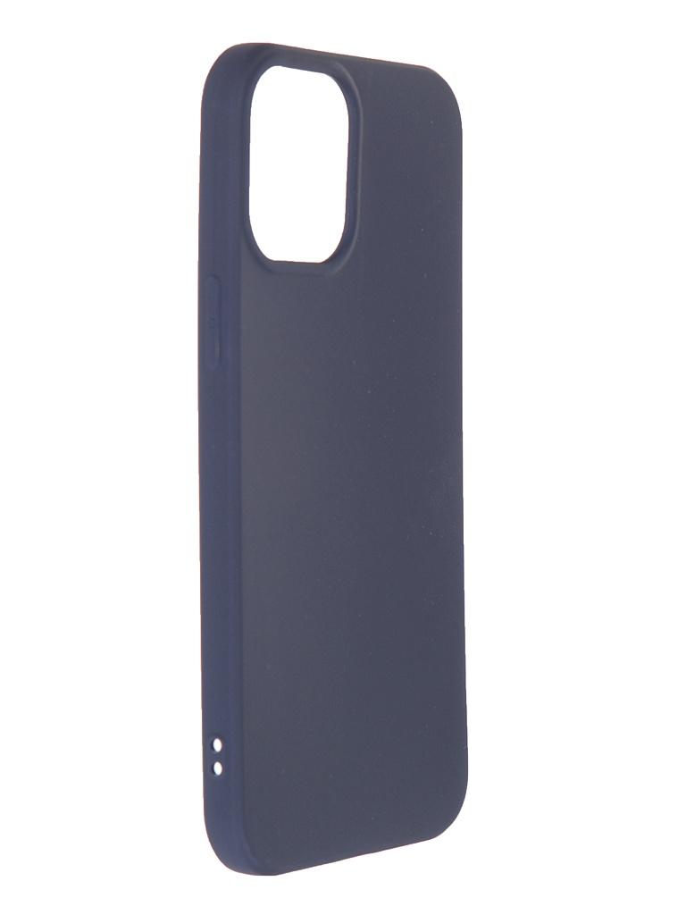 Чехол Neypo для APPLE iPhone 12 Pro Max (2020) Soft Matte Silicone Dark Blue NST20821 недорого