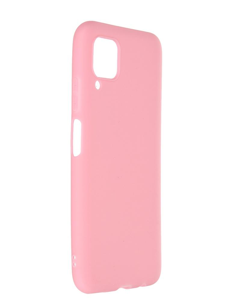 Чехол Neypo для Huawei P40 Lite Soft Matte Silicone Pink NST17141