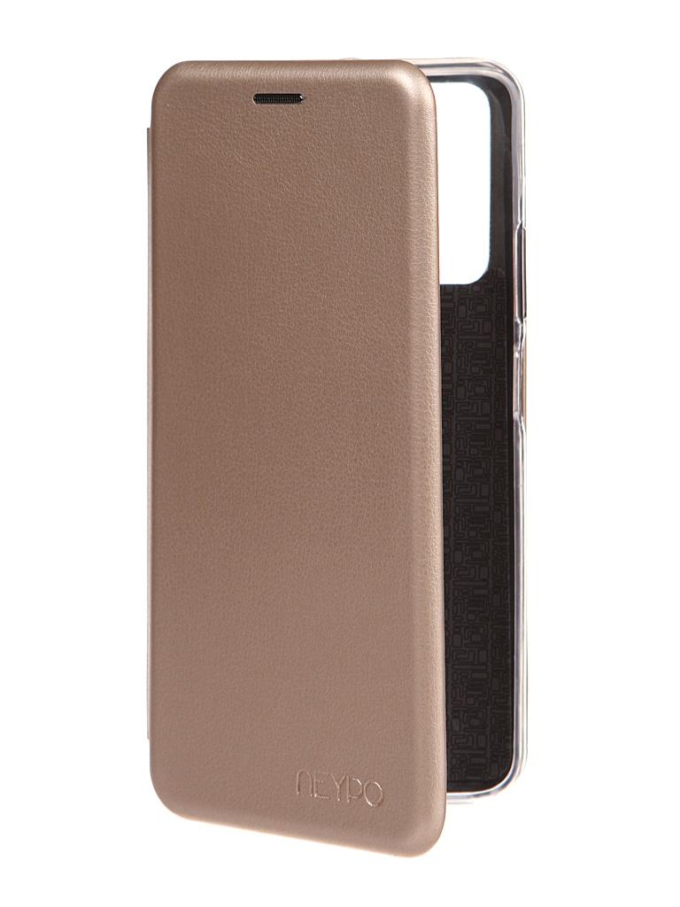 Чехол Neypo для Honor 10X Lite Premium Gold NSB20499 чехол neypo для honor 10x lite wallet brown nw21257