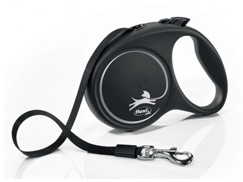 Рулетка Flexi Black Design L 5m 79473