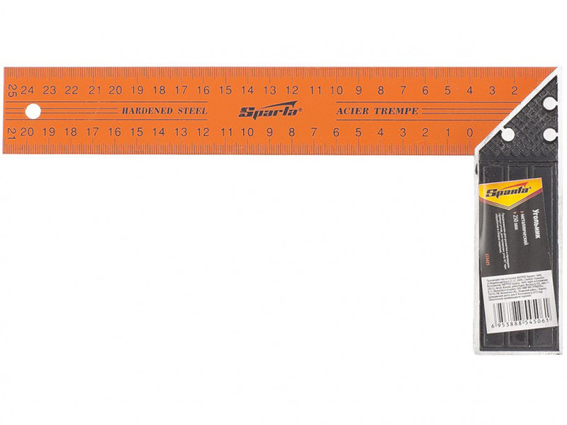 Угольник Sparta 250mm 323425