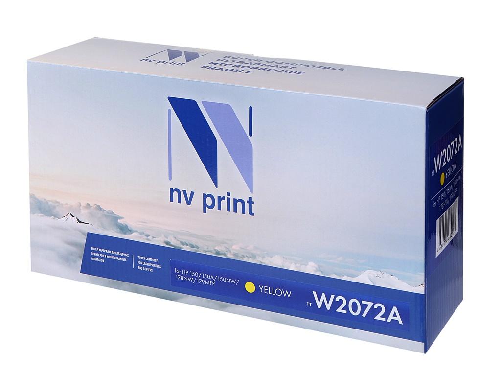 Картридж NV Print NV-W2072A Yellow для HP 150/150A/150NW/178NW/179MFP 700k