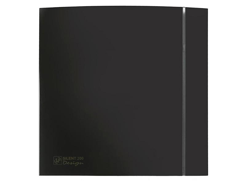 Вытяжной вентилятор Soler & Palau Silent-200 CZ Design 4C Black
