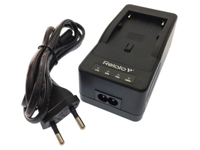Зарядное устройство Relato CH-P1640/Mod15 для Sony NP-F/ FM/ QM зарядное устройство relato ch p1640u fw для sony np fw50