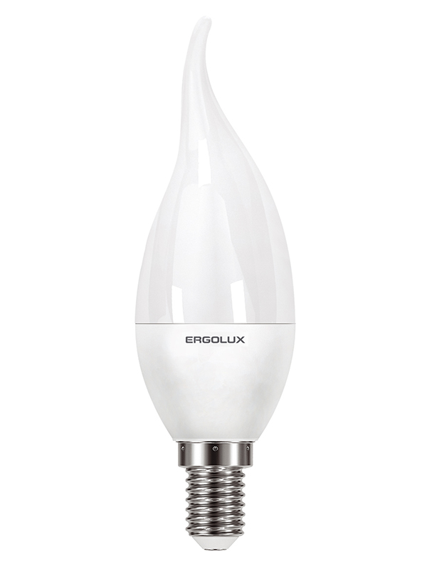 Лампочка Ergolux E14 11W 220V 6500K 1056Lm LED-CA35-11W-E14-6K 14234