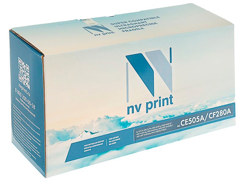 Картридж NV Print CE505A/CF280A для НР LJ P2035/P2055/400/M401/M425