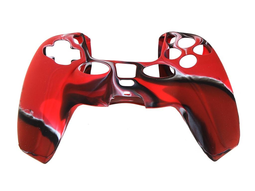 Чехол Red Line для DualSense PS5 Red-Black УТ000024657