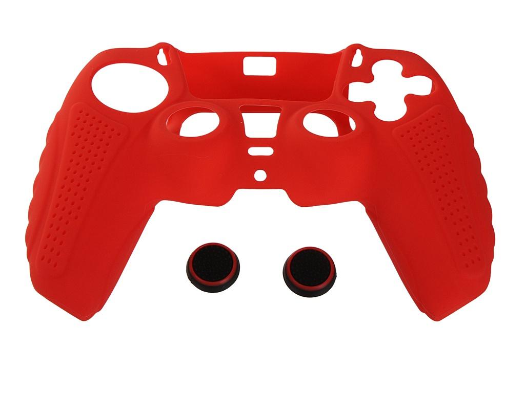 Чехол с накладками Red Line для DualSense PS5 УТ000024660