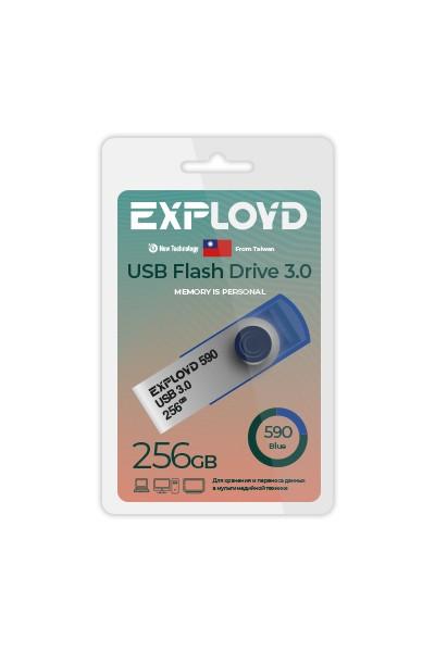 Фото - USB Flash Drive 256Gb - Exployd 590 3.0 EX-256GB-590-Blue снуд button blue button blue bu019ggcrrq1