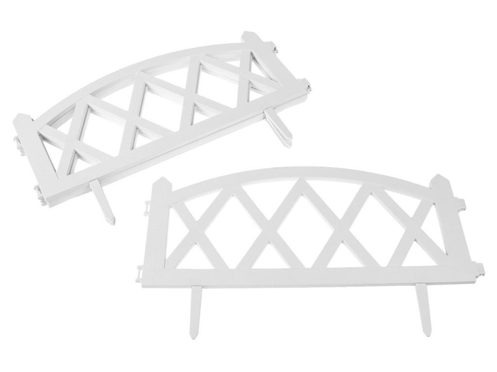 Ограждение Greengo Modern 35x232cm 4 секции White 3338447