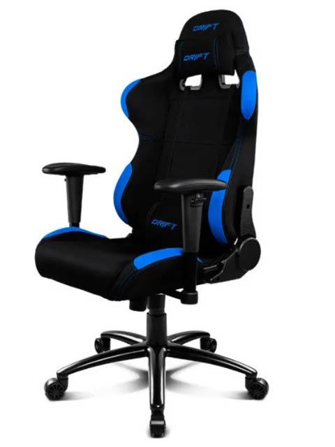 Компьютерное кресло Drift DR100 Fabric Black Blue