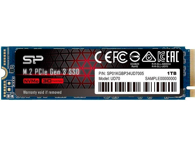 Твердотельный накопитель Silicon Power UD70 1Tb SP01KGBP34UD7005