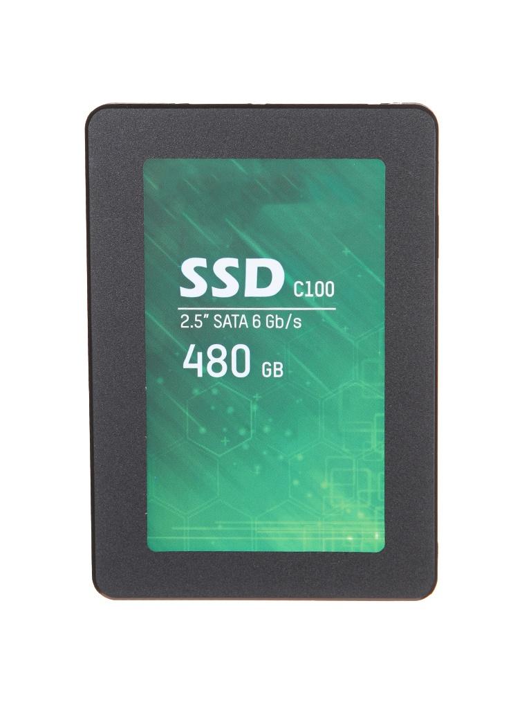 Твердотельный накопитель HikVision С100 480Gb HS-SSD-C100/480G