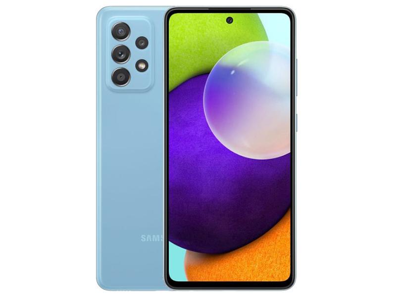 Сотовый телефон Samsung SM-A525F Galaxy A52 4/128Gb Blue сотовый телефон vsmart joy 3 4 64gb purple topaz
