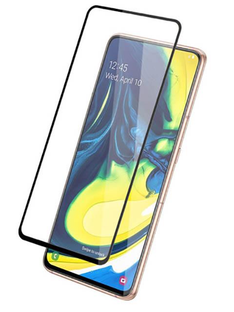 Защитное стекло Mietubl для Samsung Galaxy A90 / A80 2.5D Full Glue Black M-835095