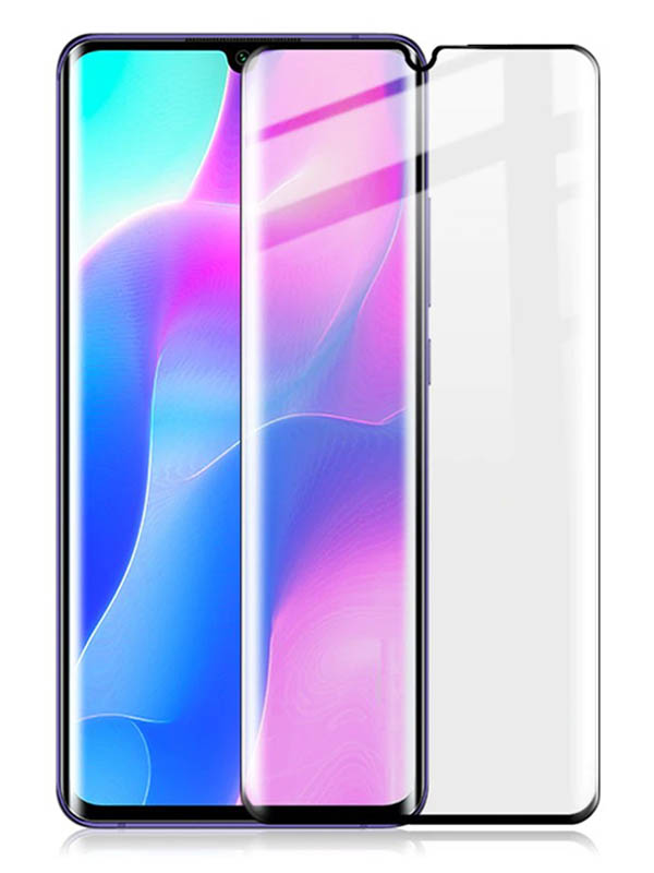 Защитное стекло Mietubl для Xiaomi 10 Lite / Youth 5G 2.5D Full Glue Black M-835347