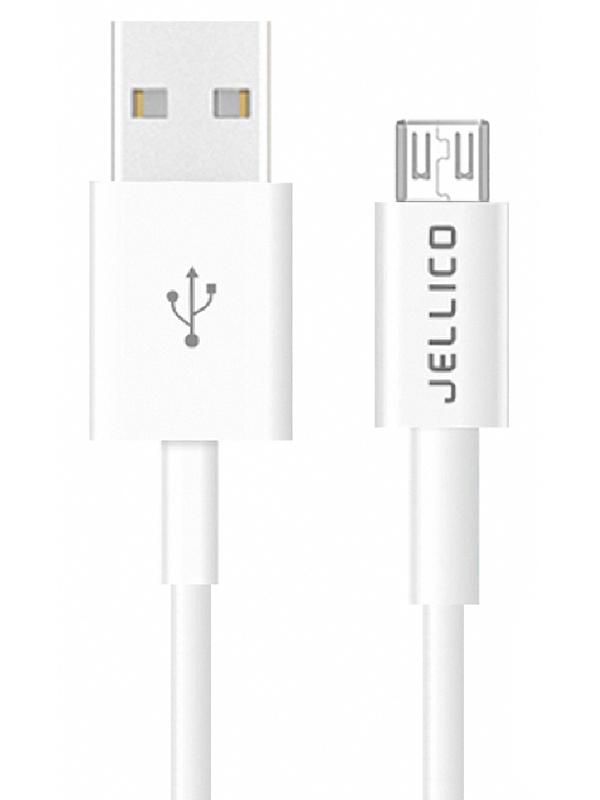 Фото - Аксессуар Jellico QS-07 USB - MicroUSB 2m White аксессуар deppa usb 8 pin 1 2m white 72114