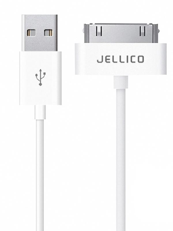 Аксессуар Jellico NY-10 USB - 30-pin 1m White