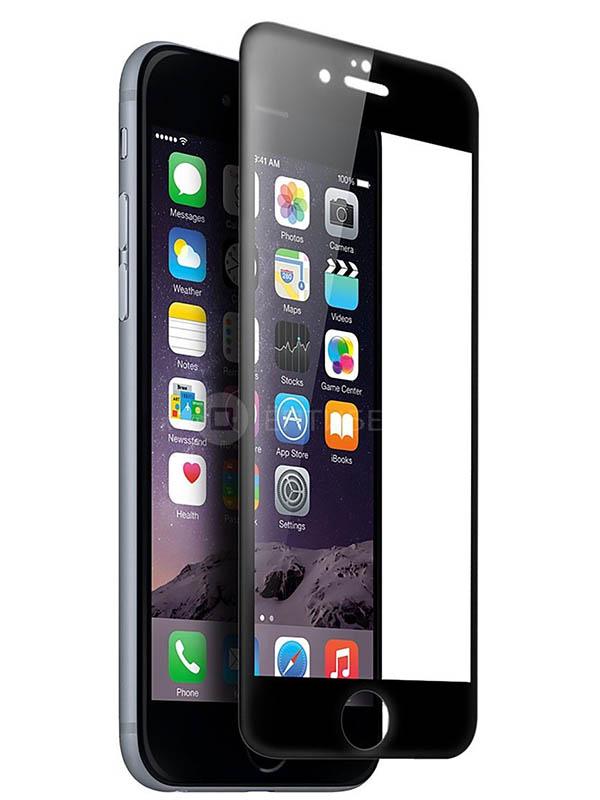 Защитное стекло Mietubl для APPLE iPhone 6 / 6S 11D Full Glue Black M-595187