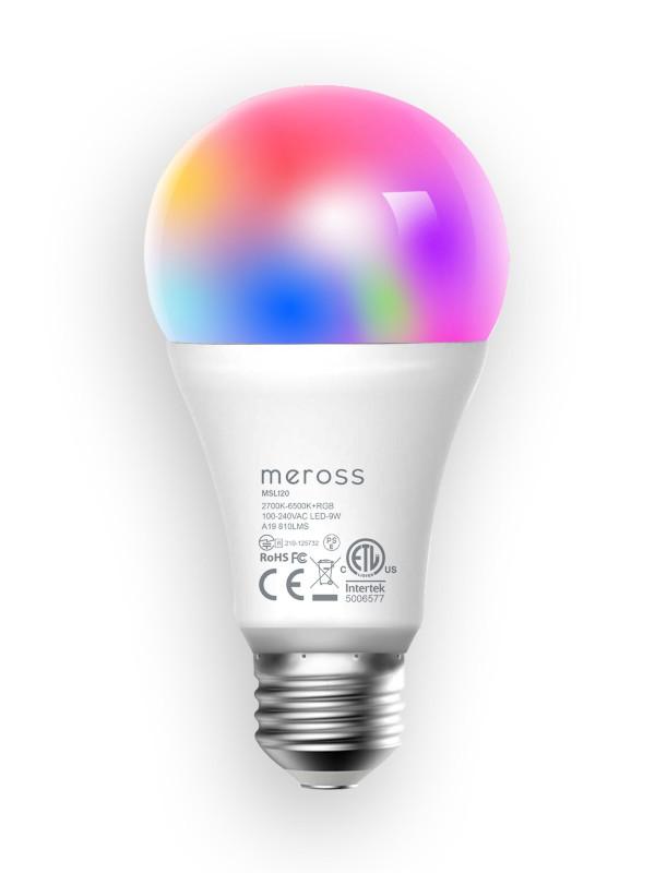 Лампочка Meross Smart WiFi LED Bulb MSL120HK