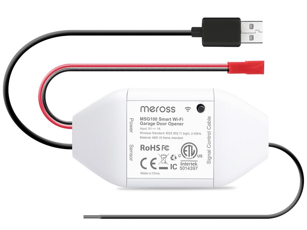 Контроллер Meross Smart WiFi Garage Door Opener MSG100HK