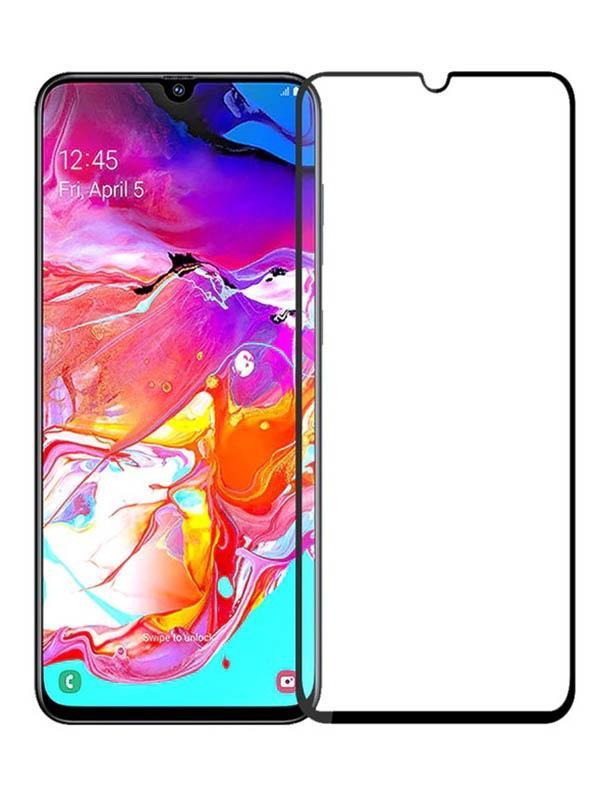 Защитное стекло Mietubl для Samsung Galaxy A70 / A70S PMMA Matte Black M-637016