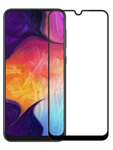 Защитное стекло Mietubl для Samsung M30 / A30 A50 A20 M30S A30S A50S 11D Full Glue Black M-595262