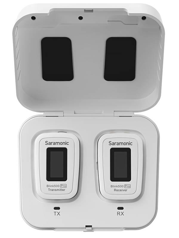 Фото - Радиосистема Saramonic Blink500 Pro B1W White A01837 радиосистема saramonic blink500 b1w txw rxw white a00958