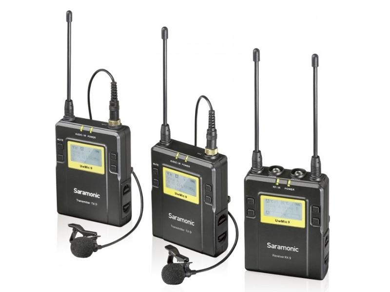 Фото - Радиосистема Saramonic UwMic9s Kit2 (RX9S+TX9S+TX9S) A01868 радиосистема saramonic blink500 b1w txw rxw white a00958