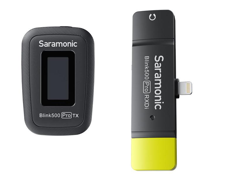 Фото - Радиосистема Saramonic Blink500 Pro B3 (TX+RXDi) A01861 радиосистема saramonic blink500 b1w txw rxw white a00958