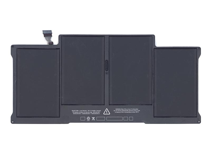 Аксессуар Аккумулятор Vbparts для APPLE MacBook Air 13 A1466 / A1496 2013 7.6V Mid 54.4W 010342