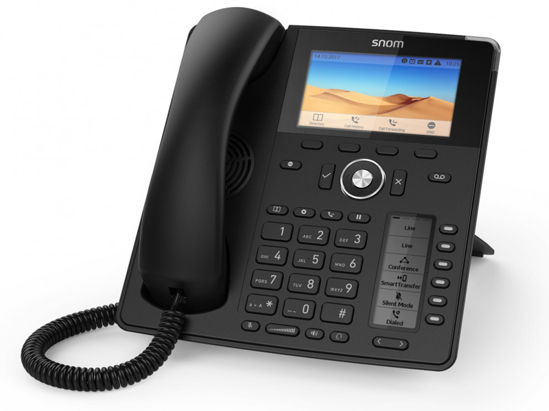 VoIP оборудование Snom D785 Black