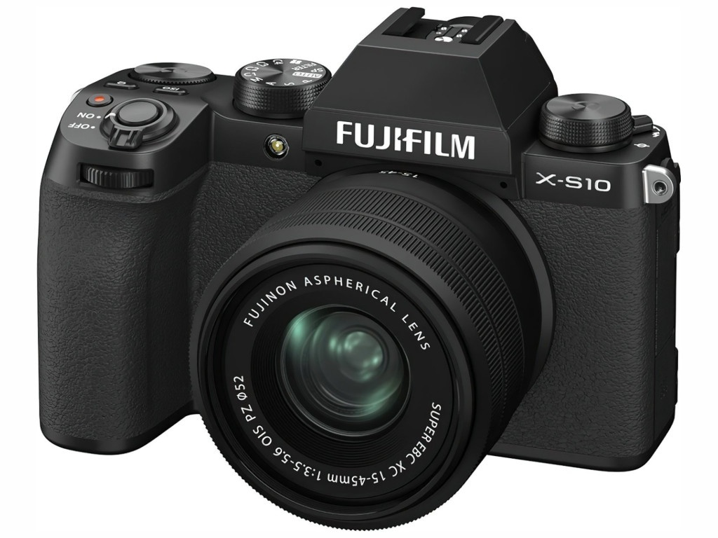 Фотоаппарат Fujifilm X-S10 Kit 15-45mm Black