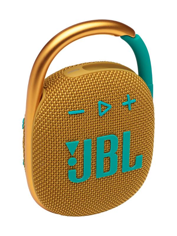 Колонка JBL Clip 4 Yellow JBLCLIP4YEL