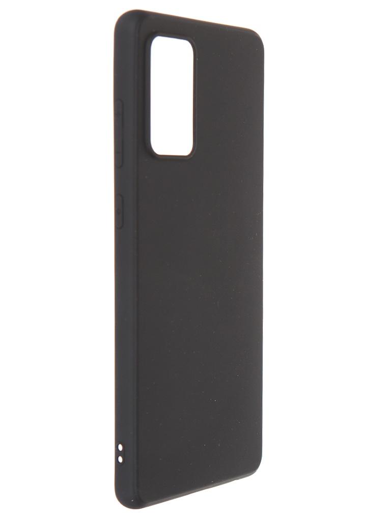 Чехол Brosco для Samsung Galaxy A72 Black Matte SS-A72-COLOURFUL-BLACK