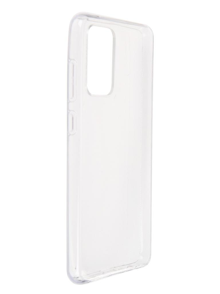 Чехол Brosco для Samsung Galaxy A72 Silicone Transparent SS-A72-TPU-TRANSPARENT