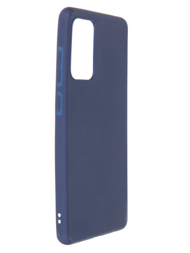 Чехол Zibelino для Samsung Galaxy A72 Soft Matte Blue ZSM-SAM-A72-DBLU