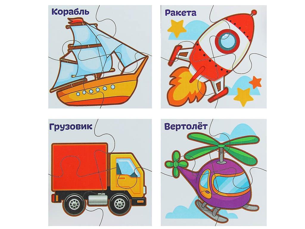 Пазл Лесная мастерская Транспорт 2101629