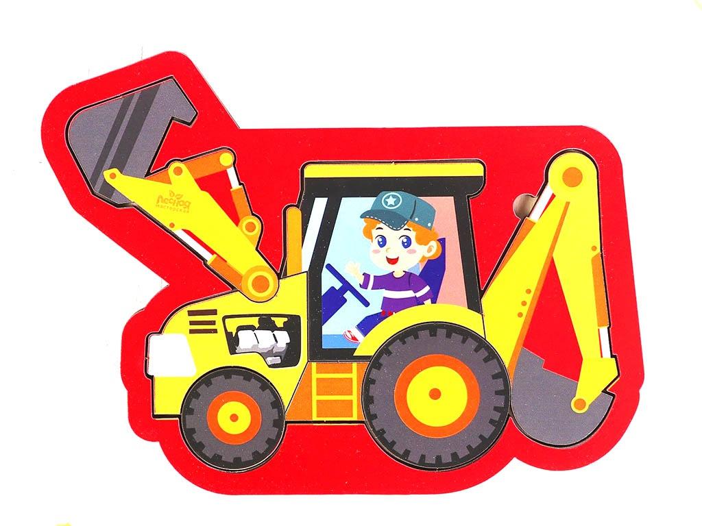 Головоломка Лесная мастерская Трактор 4276052