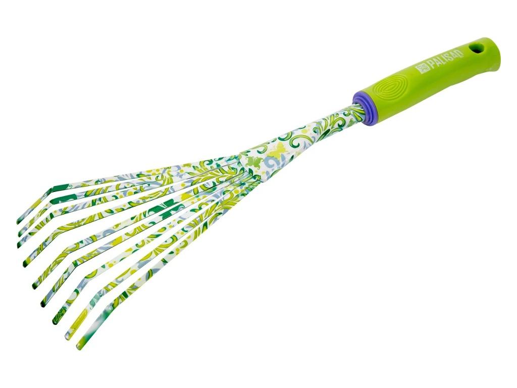 Садовый инструмент Грабли веерные Palisad Flower Green 62042