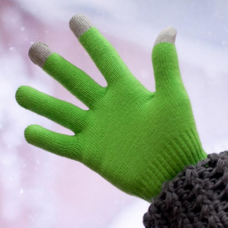 Купить Теплые перчатки для сенсорных дисплеев iGlover Classic р.UNI Green