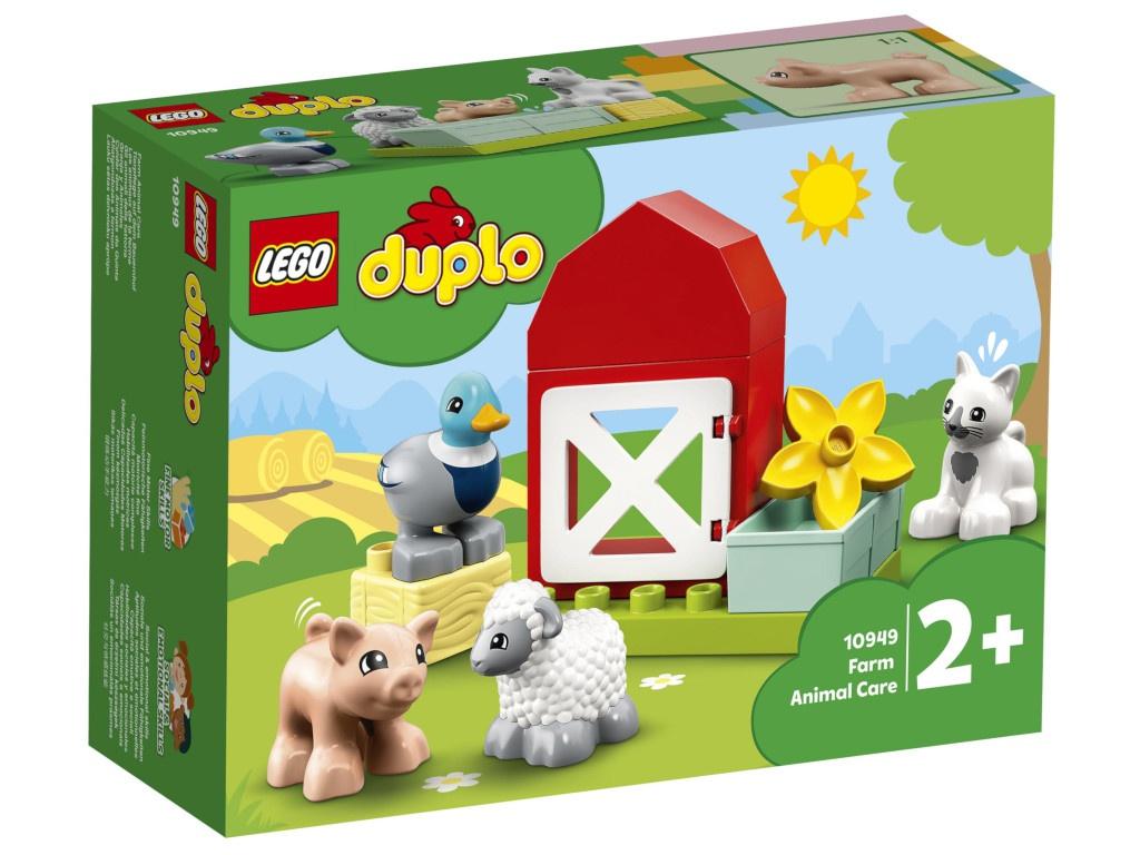 Конструктор Lego Duplo Уход за животными на ферме 11 дет. 10949