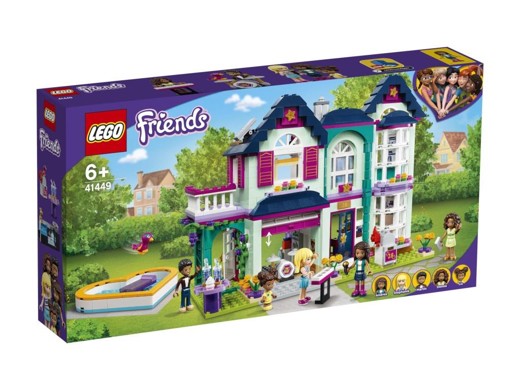 Конструктор Lego Friends Дом семьи Андреа 41449