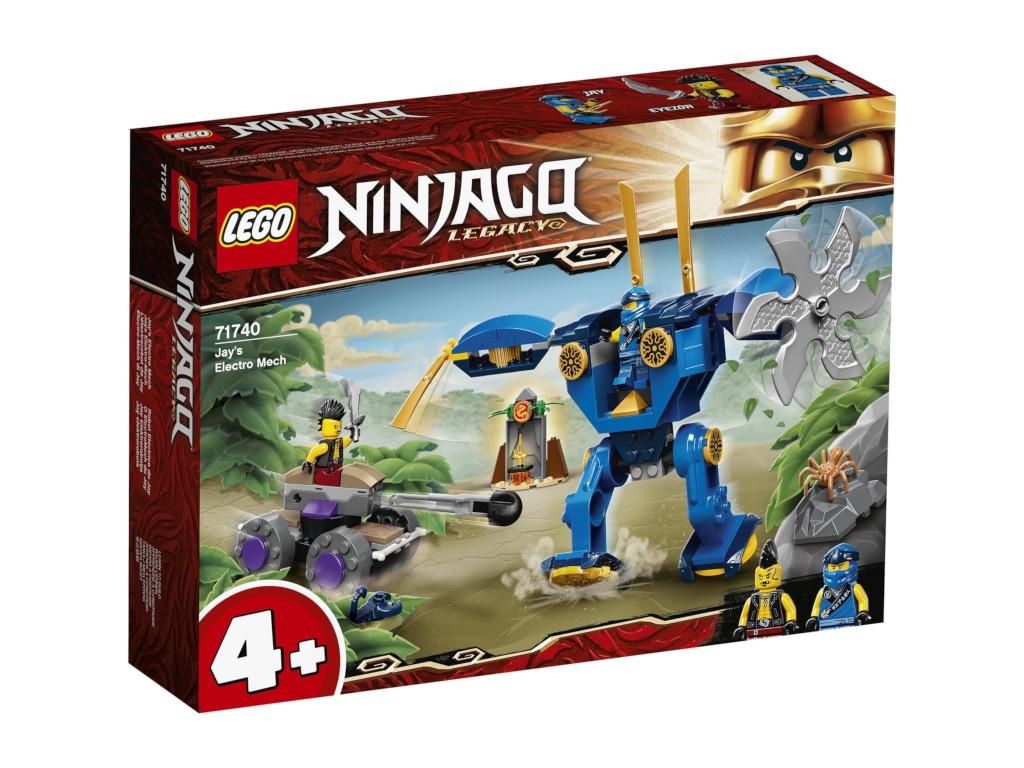 Фото - Конструктор Lego Ninjago Электрический робот Джея 71740 конструктор lego ninjago бронированный носорог зейна