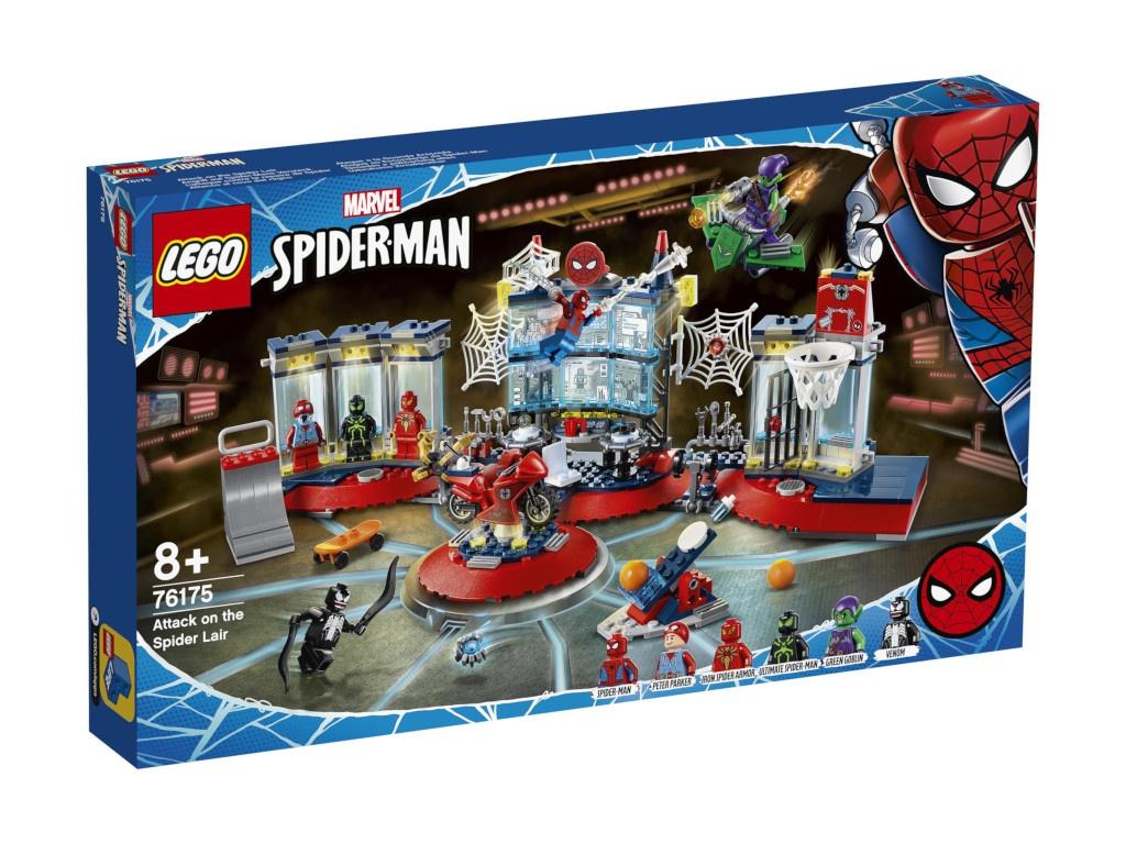 Конструктор Lego Super Heroes Нападение на мастерскую паука 76175