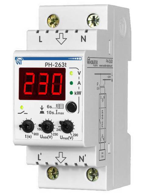 Реле контроля напряжения Новатек-Электро PH-263Т 3425600263т