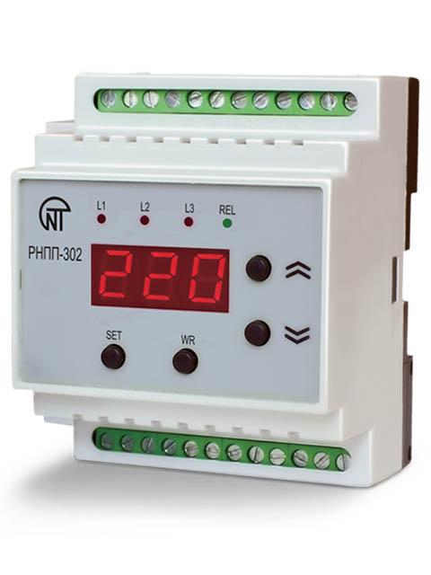Реле контроля напряжения Новатек-Электро РНПП-302