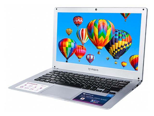 Ноутбук Irbis NB72 (Intel Atom Z3735F 1.33 GHz/2048Mb/32Gb/Intel HD Graphics/Wi-Fi/Bluetooth/Cam/13.3/1920x1080/Windows 10 Home 64-bit)